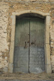Altes Roscigno, Cilento (IT) Yards Häuser, in denen 20 Jahre nicht bewohnt werden Lizenzfreies Stockbild