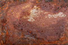 Altes rostiges Metall Hintergrund stockbild