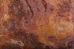 Altes rostiges Metall Hintergrund stockfotografie