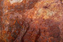 Altes rostiges Metall Hintergrund lizenzfreie stockfotografie