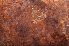 Altes rostiges Metall Hintergrund stockfotos