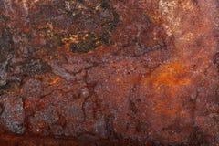 Altes rostiges Metall Hintergrund lizenzfreie stockfotos