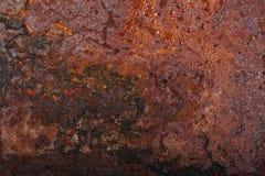 Altes rostiges Metall Hintergrund lizenzfreies stockfoto