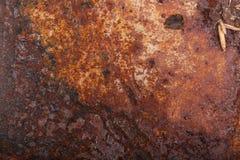 Altes rostiges Metall Hintergrund lizenzfreie stockbilder
