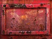 Altes rostiges Metallfeld Lizenzfreie Stockfotografie