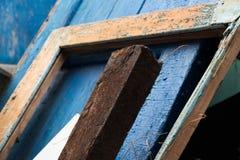 Altes rostiges Stück Eisen Lizenzfreie Stockbilder