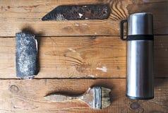 Altes rostiges Werkzeug Stockbild