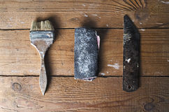 Altes rostiges Werkzeug Stockbilder