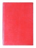 Altes rotes Abdeckungbuch getrennt Lizenzfreies Stockbild