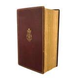 Altes rotes Buch Stockbilder