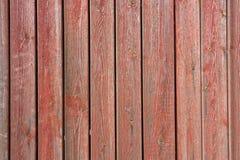 Altes rotes Holz ist maltes Stockbilder
