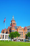 Altes rotes Museum von Dallas County History u. von Kultur stockfoto