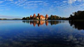 Altes rotes Schloss Lizenzfreies Stockbild
