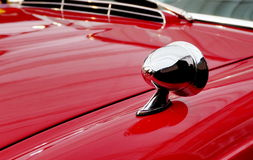 Altes rotes Sportauto Stockbild