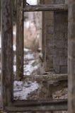Altes ruiniertes Fenster Lizenzfreies Stockfoto