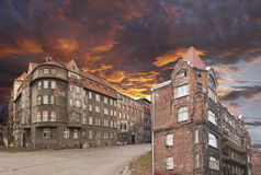 Altes ruiniertes Haus Lizenzfreies Stockfoto