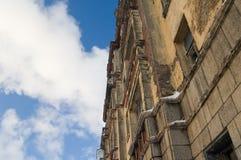 Altes ruiniertes Haus Lizenzfreie Stockfotografie