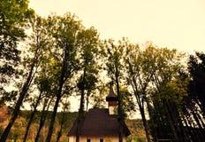 Altes rumänisches Kloster Lizenzfreie Stockfotografie