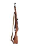 Altes russisches Gewehr Stockbilder