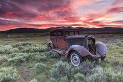 Altes rustikales Fahrzeug Lizenzfreies Stockfoto