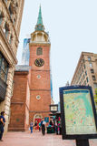 Altes Südbethaus Boston Stockbild