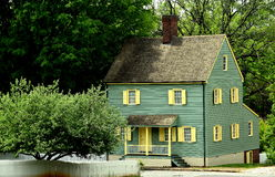 Altes Salem, NC: Kolonialhaus des 18. Jahrhunderts Lizenzfreies Stockbild