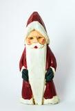 Altes Santa Claus Statue Figurine Sharp High-Entschließungs-Foto Stockfotos