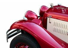 Altes schönes Auto getrennt Lizenzfreie Stockfotos