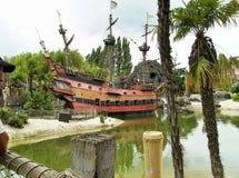 Altes schip Stockfoto