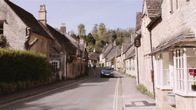 Altes schläfriges englisches Dorf Stockbild