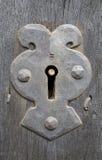 Altes Schlüsselloch Stockfotos
