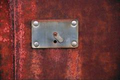 Altes Schlüsselloch Stockbilder