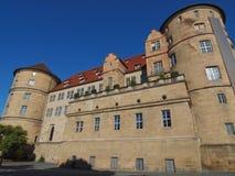 Altes Schloss (老城堡)斯图加特 免版税图库摄影