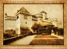 Altes Schloss vektor abbildung