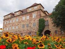 Altes Schloss (den gamla slotten), Stuttgart Arkivbilder