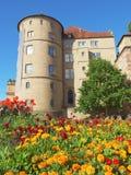 Altes Schloss (den gamla slotten), Stuttgart Royaltyfria Bilder
