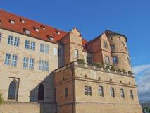Altes Schloss (den gamla slotten), Stuttgart Fotografering för Bildbyråer