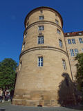 Altes Schloss (den gamla slotten), Stuttgart Arkivfoto