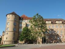 Altes Schloss (den gamla slotten) Stuttgart Royaltyfri Fotografi