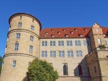 Altes Schloss (den gamla slotten) Stuttgart Arkivbild