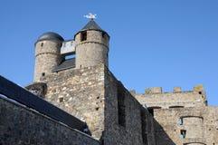 Altes Schloss in Deutschland stockbild