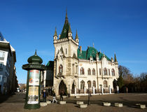 Altes Schloss in Kosice Lizenzfreies Stockfoto