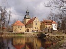 Altes Schloss in Lettland lizenzfreies stockfoto