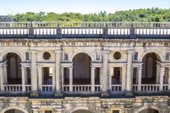 Altes Schloss mit 600 Jährigen in Tomar, Portugal stockbilder