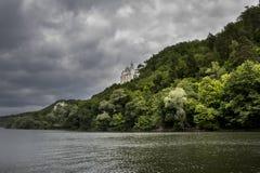Altes Schloss oder eine Kirche Lizenzfreies Stockfoto