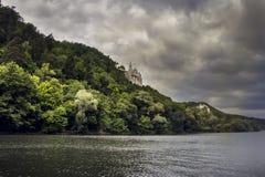 Altes Schloss oder eine Kirche Stockfotos