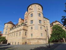Altes Schloss (Old Castle) Stuttgart Stock Photo