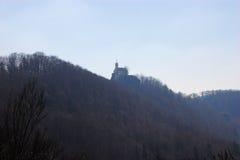 Altes Schloss Rabenstein, die fränkische Schweiz lizenzfreie stockfotos