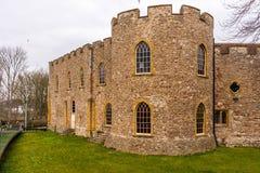 Altes Schloss in Somerset Lizenzfreies Stockbild