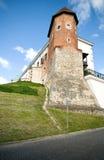 Altes Schloss vom 14 Jahrhundert in Sandomierz, Polen Stockfotografie